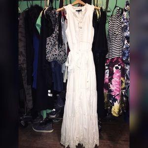 White Princess Dress Size (14/16)Plus